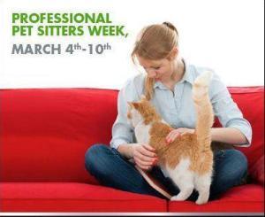 Professional Pet Sitting Week