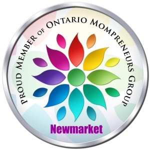 Mompreneur Badge-Newmarket